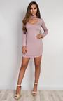 Juniper V Neck Bodycon Dress Thumbnail