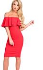 Kiara Bardot Bodycon Dress Thumbnail