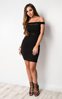 Solana Mesh Bodycon Dress Thumbnail