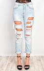 Dunn Ripped Paint Splatter Jeans Thumbnail