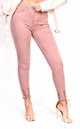 Carly Skinny Distressed Jeans Thumbnail