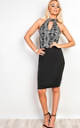 Addison Cut Out Bodycon Dress Thumbnail
