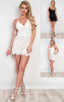Stacie Lace Playsuit Thumbnail