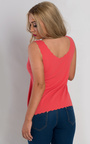 Gracen Textured Scalloped Vest Top Thumbnail
