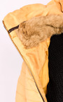 Lizziah Padded Faux Suede Jacket Thumbnail