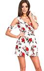 Alisha Cut-Out Floral Dress Thumbnail