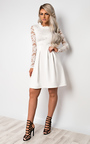 Nika Lace Skater Dress Thumbnail