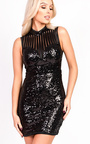 Shelly Sequin Bodycon Dress Thumbnail