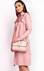 Kilsa Faux Leather Gold Detail Shoulder Bag Thumbnail