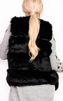 Dallis Faux Fur Waistcoat Thumbnail