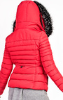 Carolina Padded Faux Fur Hooded Jacket Thumbnail