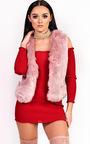 Elisa Faux Fur Waistcoat Thumbnail