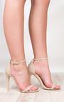 Koda Faux Leather Stiletto Heels Thumbnail
