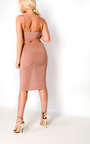 Ajtar Slinky Cut out Dress Thumbnail