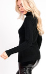 Bryony Knitted Polo Neck Jumper Thumbnail