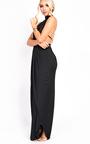 Miya Backless Split Maxi Dress Thumbnail