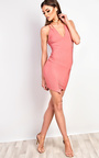 Malik Ribbed Mini Dress Thumbnail