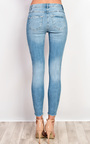 Emrata Embroidered Skinny Jeans Thumbnail