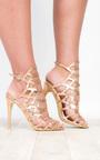 Arla Cage Detail High Heels  Thumbnail