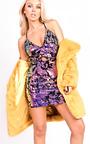 Niamh Strappy Sequin Bodycon Dress Thumbnail