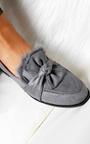 Fifi Suede Faux Fur Bow Pumps Thumbnail