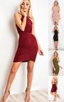 Kendall  Bodycon Wrap Dress Thumbnail