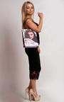 Harlie Magazine Print Handbag Thumbnail