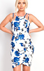 Rainah Strappy Floral Dress Thumbnail