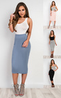 Elisheva Basic Midi Skirt Thumbnail