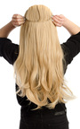 Intense Volume Clip In Hair Extensions - Flicky Golden Blonde Thumbnail