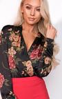 Pia Plunge Floral Bodysuit Thumbnail