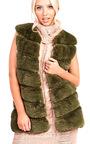 Vanessa Faux Fur Waistcoat Thumbnail