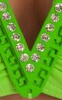 Bianca Neon Green Bikini Thumbnail
