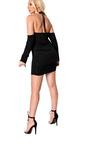 Isla Ruched Bodycon Choker Dress Thumbnail