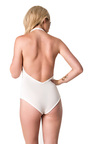 Neval Basic Halterneck Bodysuit Thumbnail