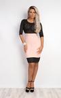 Macie Laser-Cut Bodycon Dress Thumbnail