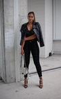 Serenity Lace Up Jeans Thumbnail