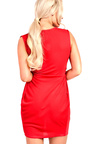Kora Gathered Wrap Bodycon Dress Thumbnail