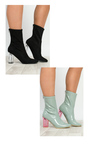 Kym Patent Heeled Ankle Boots  Thumbnail