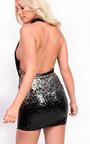 Kendal Sequin Mini Bodycon Dress Thumbnail