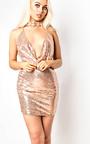 Kendal Sequin Bodycon Dress Thumbnail