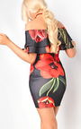 Natasha Bardot Floral Dress Thumbnail