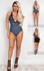 Holden Denim Effect Bodysuit Thumbnail