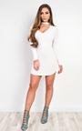 Juniper V Neck Bodycon Dress Thumbnail