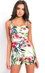 Siana Floral Playsuit Thumbnail