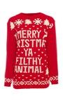 Niaran Oversized Christmas Jumper Thumbnail