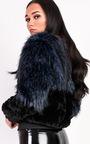 Kayla Faux Fur Bomber Jacket Thumbnail