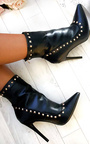 Cheryl PU Studded Ankle Boots  Thumbnail