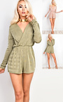 Jayne Deep Plunge Playsuit  Thumbnail