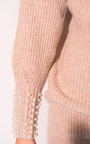 Una Beaded Knitted Jumper Thumbnail